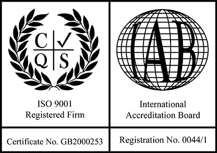 ISO 9001 and IAB certificates for Kingpin